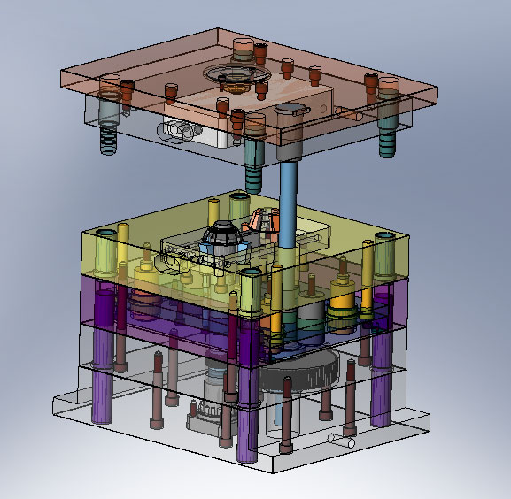 Die Cast Mould Designer with 3D Solidworks